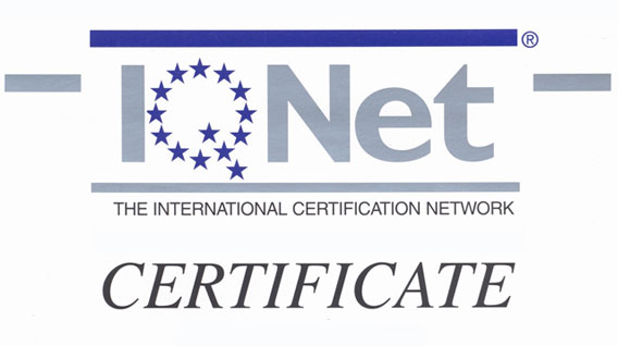 iqnet iso certification certificate international certificates certified renewed ohsas aenor system transystem service certificado environment entities relevant countries important announcement